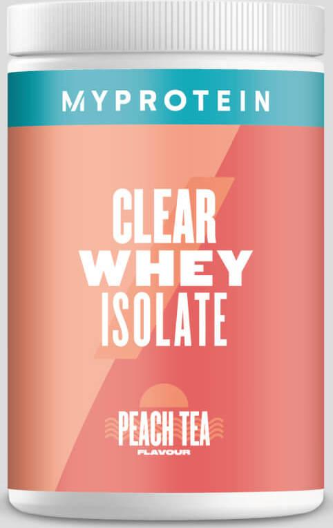 Myprotein  Clear Whey Isolate - 35servings - Broskvový čaj