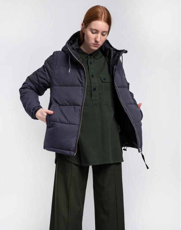 Selfhood Puffer Jacket Navy S