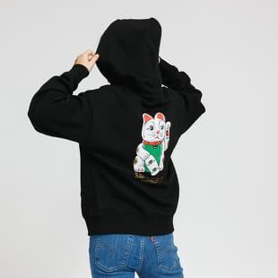 Santa Cruz W Lucky Cat Hoody černá