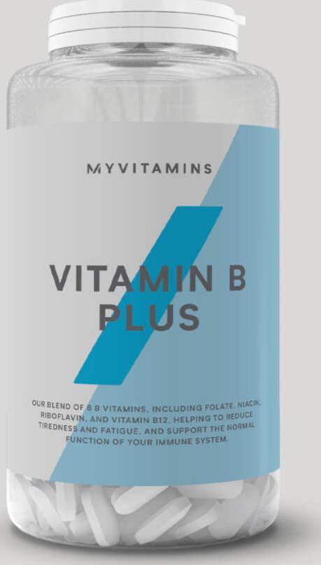 Myvitamins  Vitamín B Plus - 60Tablety