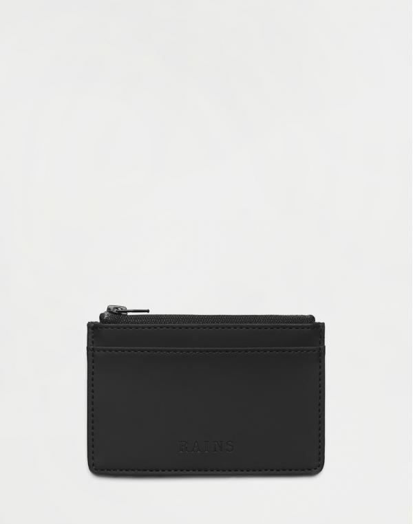 Rains Zip Wallet 01 Black