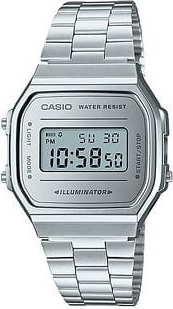 Casio A 168WEM-7EF stříbrné
