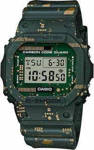 "Casio G-Shock DWE 5600CC-3ER ""Carbon Core Guard Circuit Board Camouflage Series"