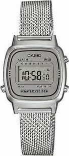 Casio LA 670WEM-7EF stříbrné