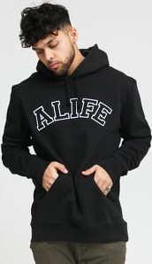 Alife Alife Collegiate Hoodie černá