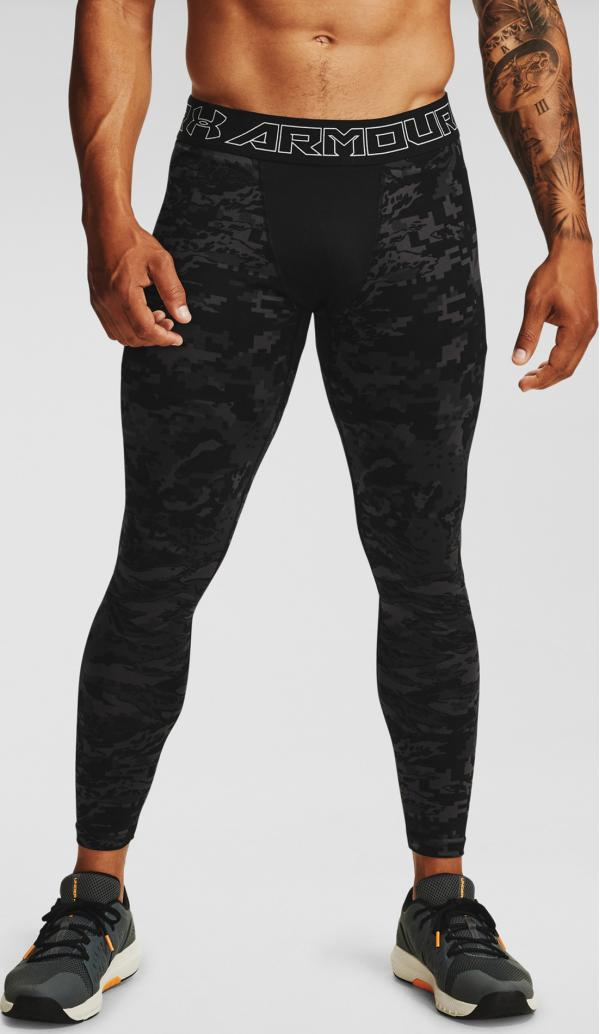 ColdGear® Armour Print Legíny Under Armour