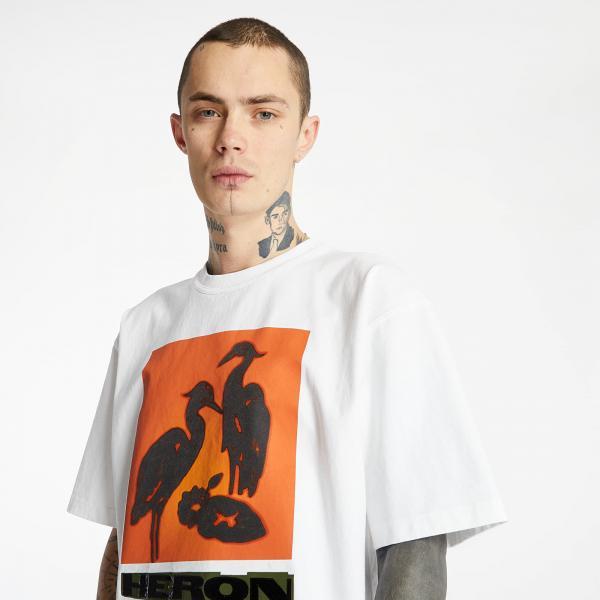 Heron Preston Tee White/ Orange
