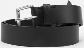 CALVIN KLEIN JEANS Square Leather Belt 35mm černý 105 cm