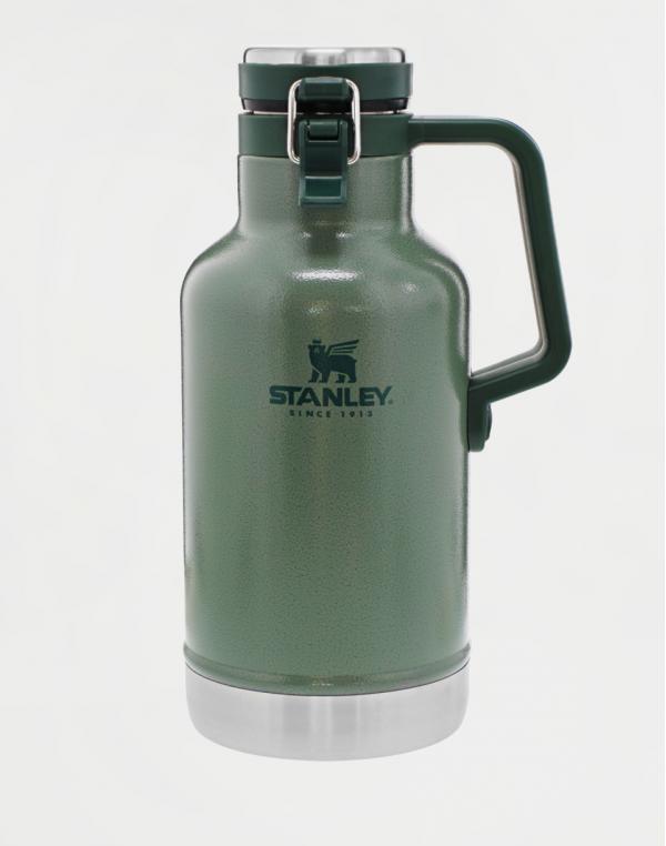 Stanley Classic series nádoba/džber/growler na pivo se zátkou 1,9l Green