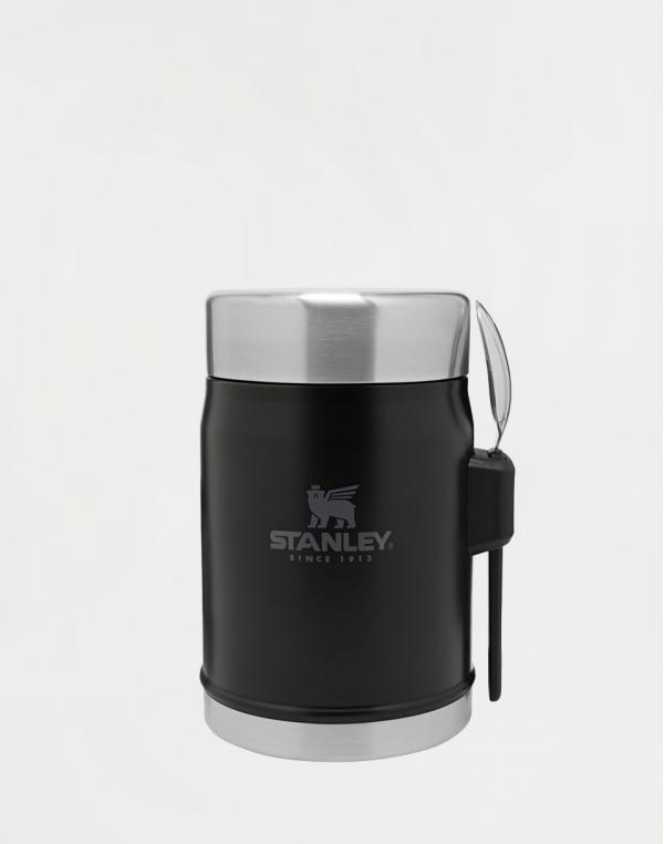 Stanley Termoska jídelní 400ml se lžící/vidličkou Black