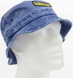 PLEASURES Spank Bucket Hat melange modrý L-XL
