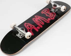Ambassadors Komplet Skateboard Neon černý / červený 7.75