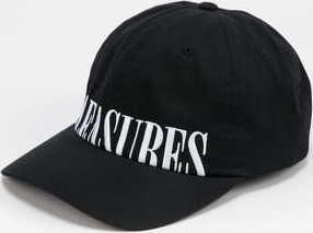 PLEASURES Dome Low Profile Snapback černá