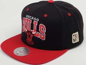 Mitchell & Ness HWC NBA Team Arch Chicago Bulls černá / červená / šedá