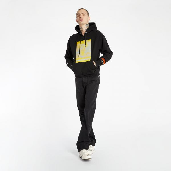 Heron Preston Hoodie Black/ Yellow