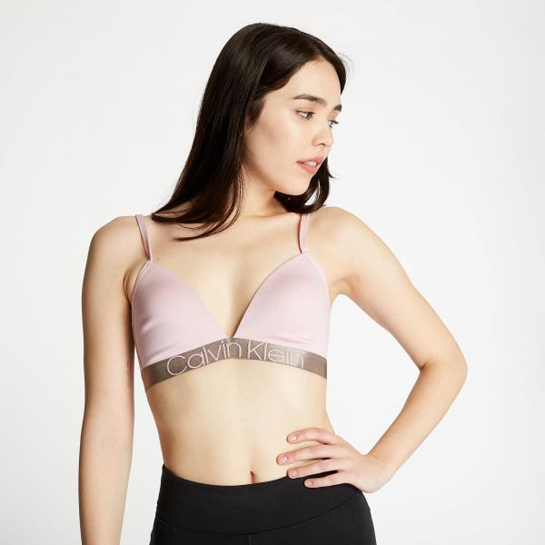 Calvin Klein Light Lined Triangle Bra Pink