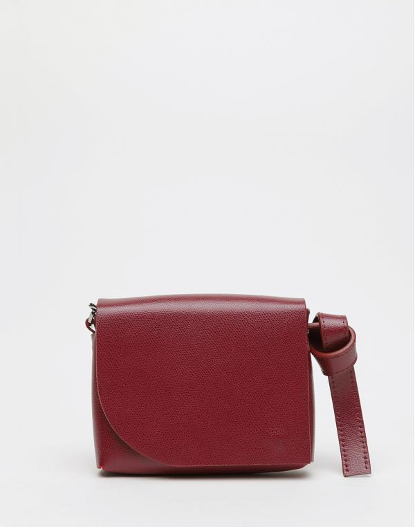 PBG Mini Chain Bag Dark Red
