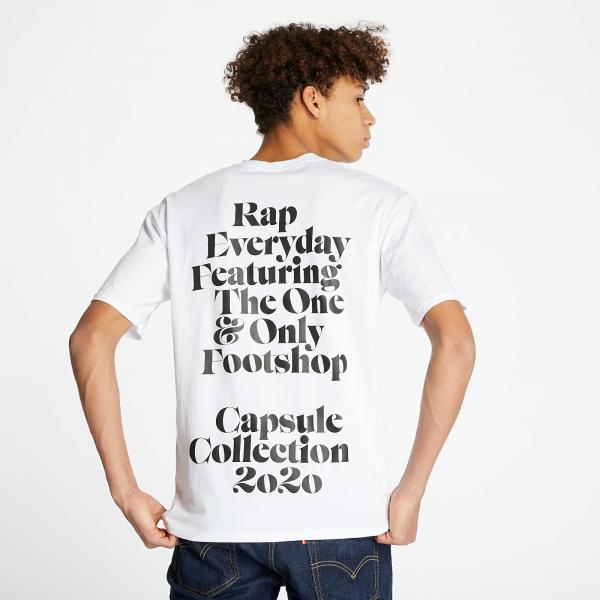 RAP x Footshop Definition Tee White