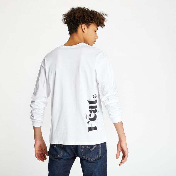 RAP x Footshop Definition Longsleeve White