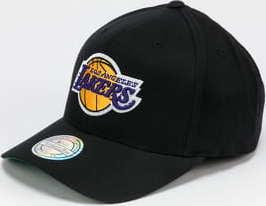 Mitchell & Ness Team Logo High Crown 6Panel LA Lakers černá / zelená