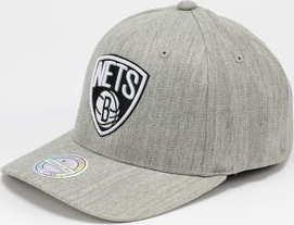 Mitchell & Ness NBA Logo 110 Brooklyn Nets melange šedá