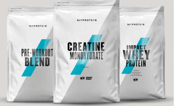 Myprotein  Fuel Your Ambition Bundle - Fruit Punch - Cookies and Cream - Berry Burst