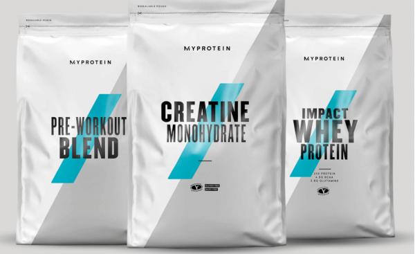 Myprotein  Fuel Your Ambition Bundle - Fruit Punch - Unflavoured - Blue Raspberry