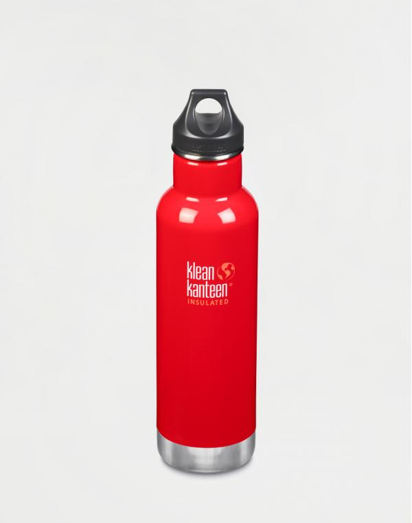 Klean Kanteen Insulated Classic 592 ml (w/Loop Cap) Mineral Red