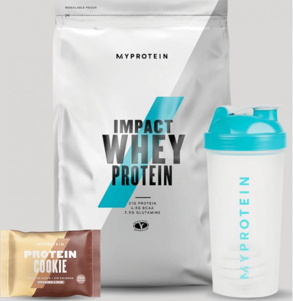 Myprotein  Balíček pro podporu vašich cílů – Regenerace - Cookies and Cream, Chocolate Brownie
