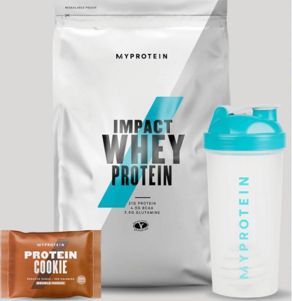 Myprotein  Balíček pro podporu vašich cílů – Regenerace - Double Chocolate, Unflavoured