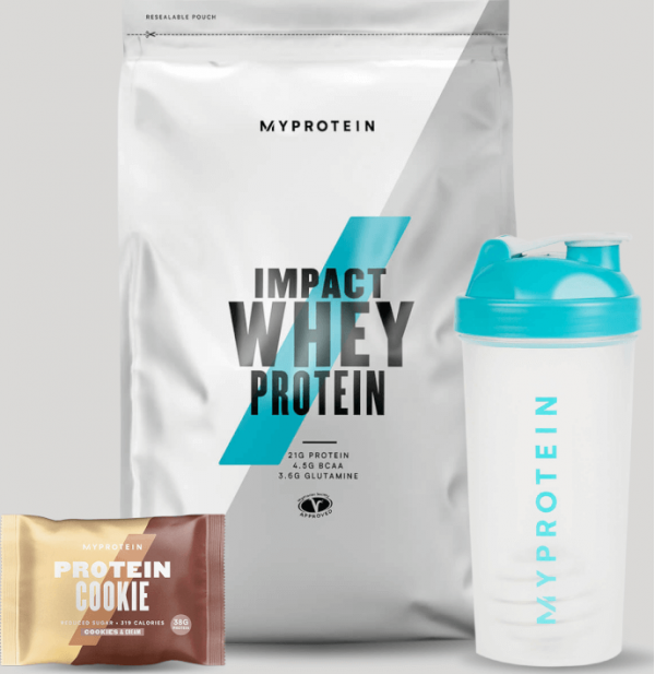Myprotein  Balíček pro podporu vašich cílů – Regenerace - Cookies and Cream, Vanilla