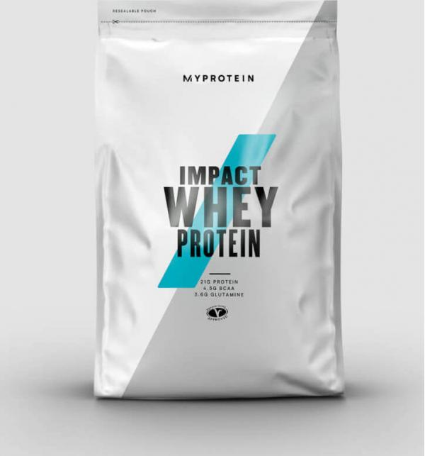 Myprotein  Impact Whey Protein - 5kg - Natural Banana - New and Improved