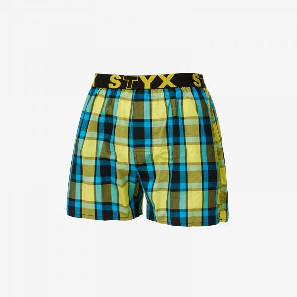 Styx Boxers (B825) Yellow/ Blue