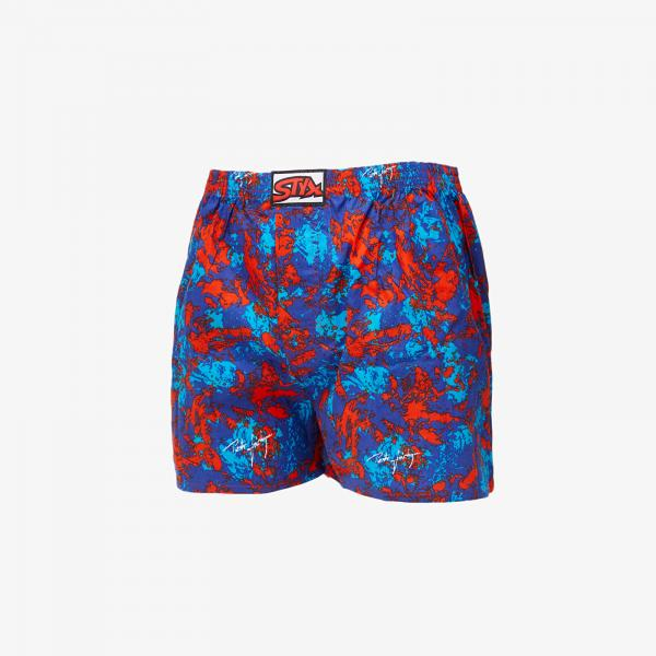 Styx Boxers (A852) Blue/ Red