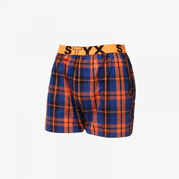 Styx Boxers (B826) Orange/ Blue