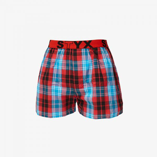 Styx Boxers (B811) Red/ Blue