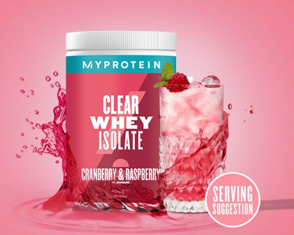 Myprotein  Clear Whey Isolate - 35servings - Cranberry & Raspberry