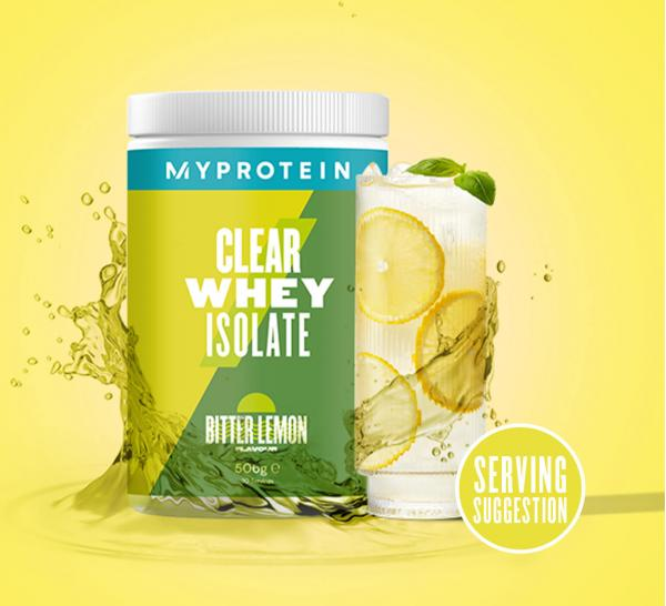 Myprotein  Clear Whey Isolate - 35servings - Bitter Lemon
