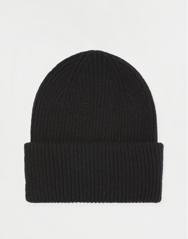 Colorful Standard Merino Wool Hat Deep Black