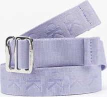 CALVIN KLEIN JEANS Slider Tape Belt 30mm fialový 100 cm