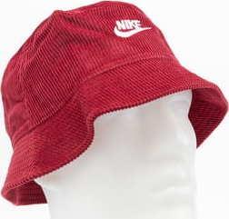 Nike NSW Bucket Futura Cordu vínový L-XL