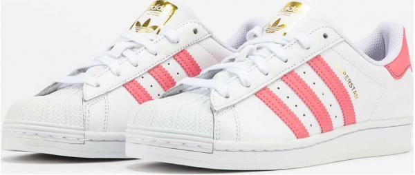 adidas Originals Superstar W ftwwht / bluoxi / goldmt