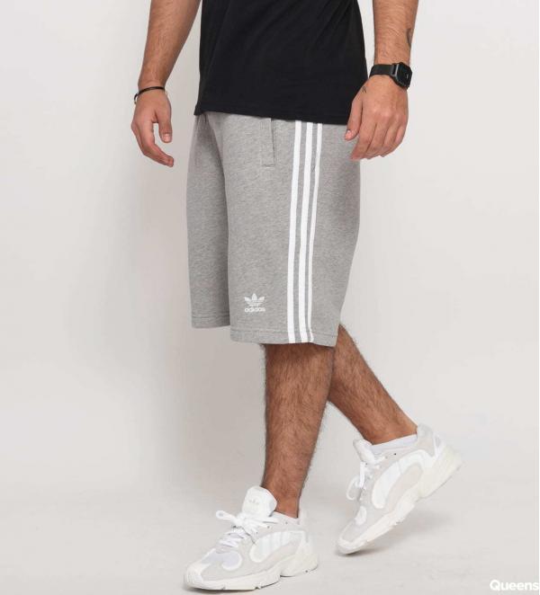 adidas Originals 3-Stripe Short melange šedé