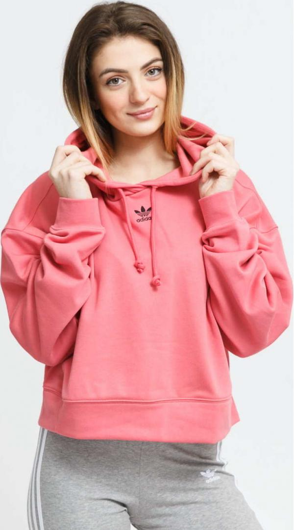 adidas Originals Hoodie růžová