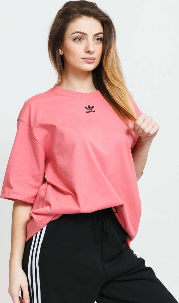 adidas Originals Tee růžové
