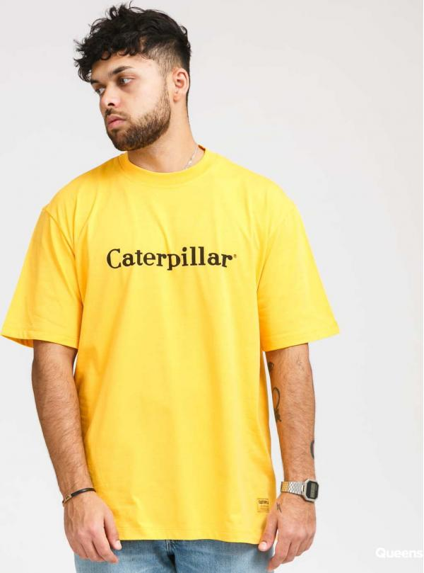 CATERPILLAR Basic Tee žluté