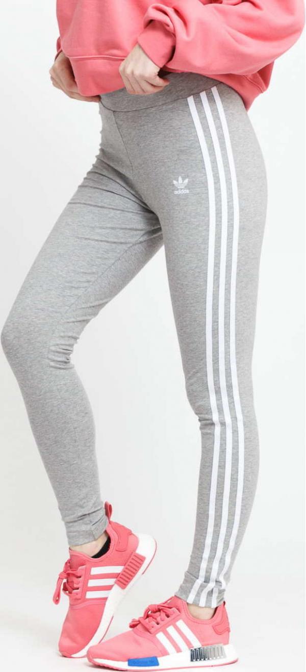 adidas Originals 3 Stripes Tight melange šedé