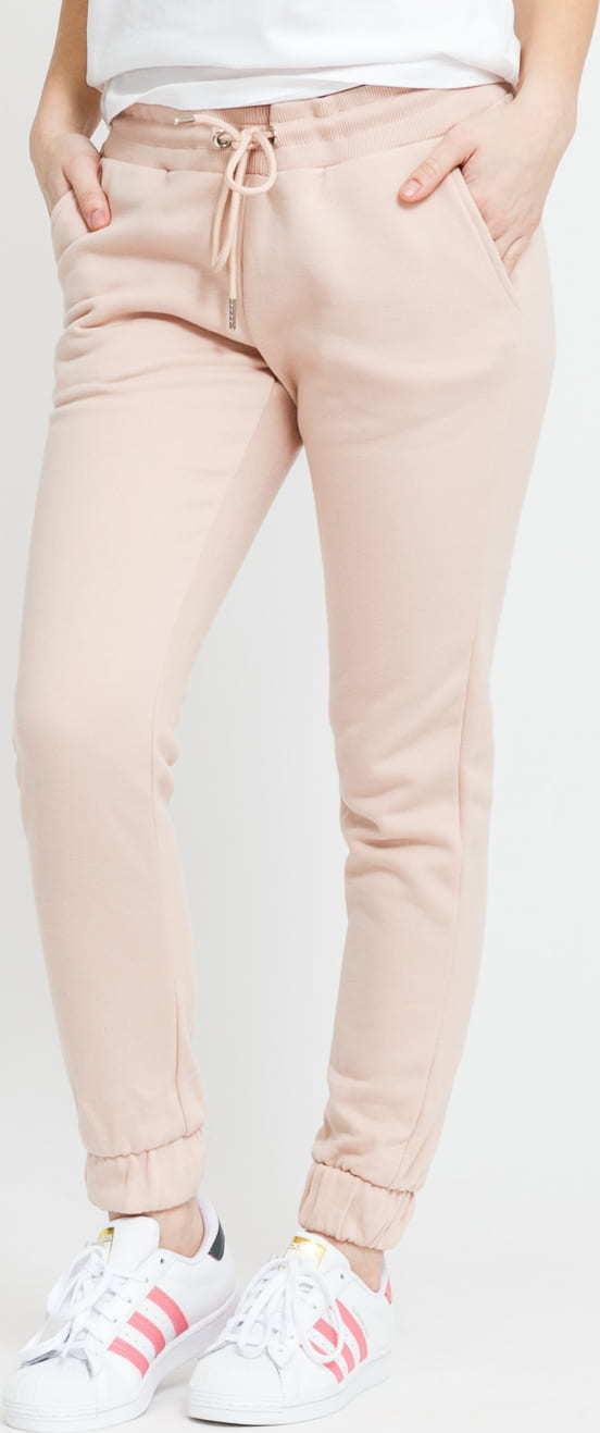 Urban Classics Ladies Sweatpants světle růžové