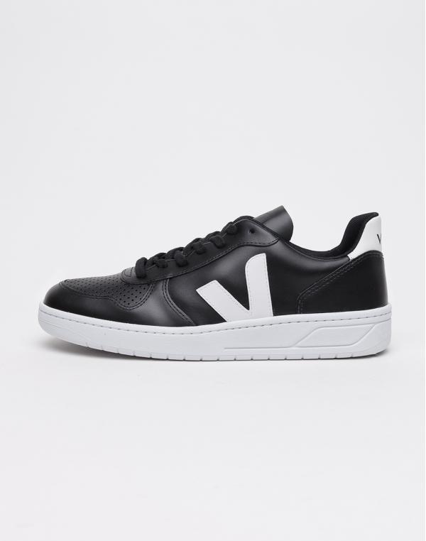 Veja V-10 BLACK_WHITE_WHITE-SOLE 44