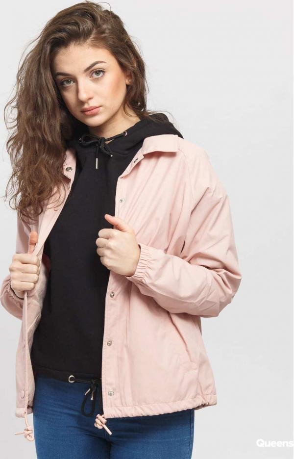 Urban Classics Ladies Coach Jacket růžová